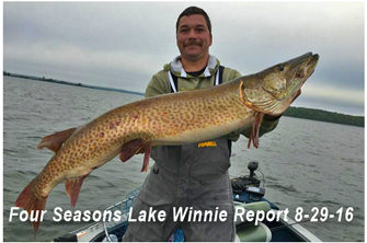 image links to four seasons fish report