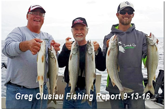 image links to lake superior trout report