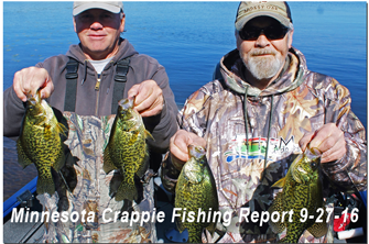 image of joel and bruce clusiau links to fishing report