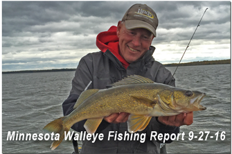 image of walleye guide links to fishing report