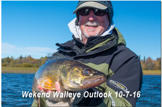 image links to Walleye fishing forecast