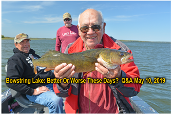 image links to bowstring lake fishing outlook