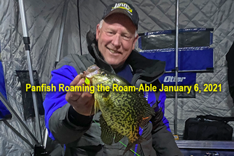 image links to ice fishing report by Jeff Sundin