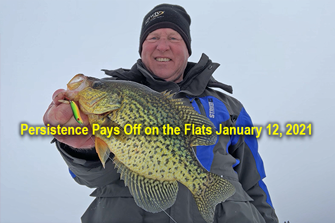 image of jeff sundin links to crappie fishing report