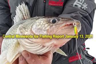 image links to central minnesota ice fishing report