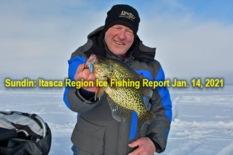 image links to ice fishing report for january 14, 2021