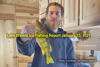 image links to lake winnie ice fishing report